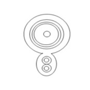 Koaksijalni kabl  SP-9004-300W 300M White Wooden Drum